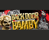 Back Door Bamby Halloween - Nightclub Graphic Designs