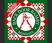 Backdoor Bamby Mondays - Nightclub Graphic Designs