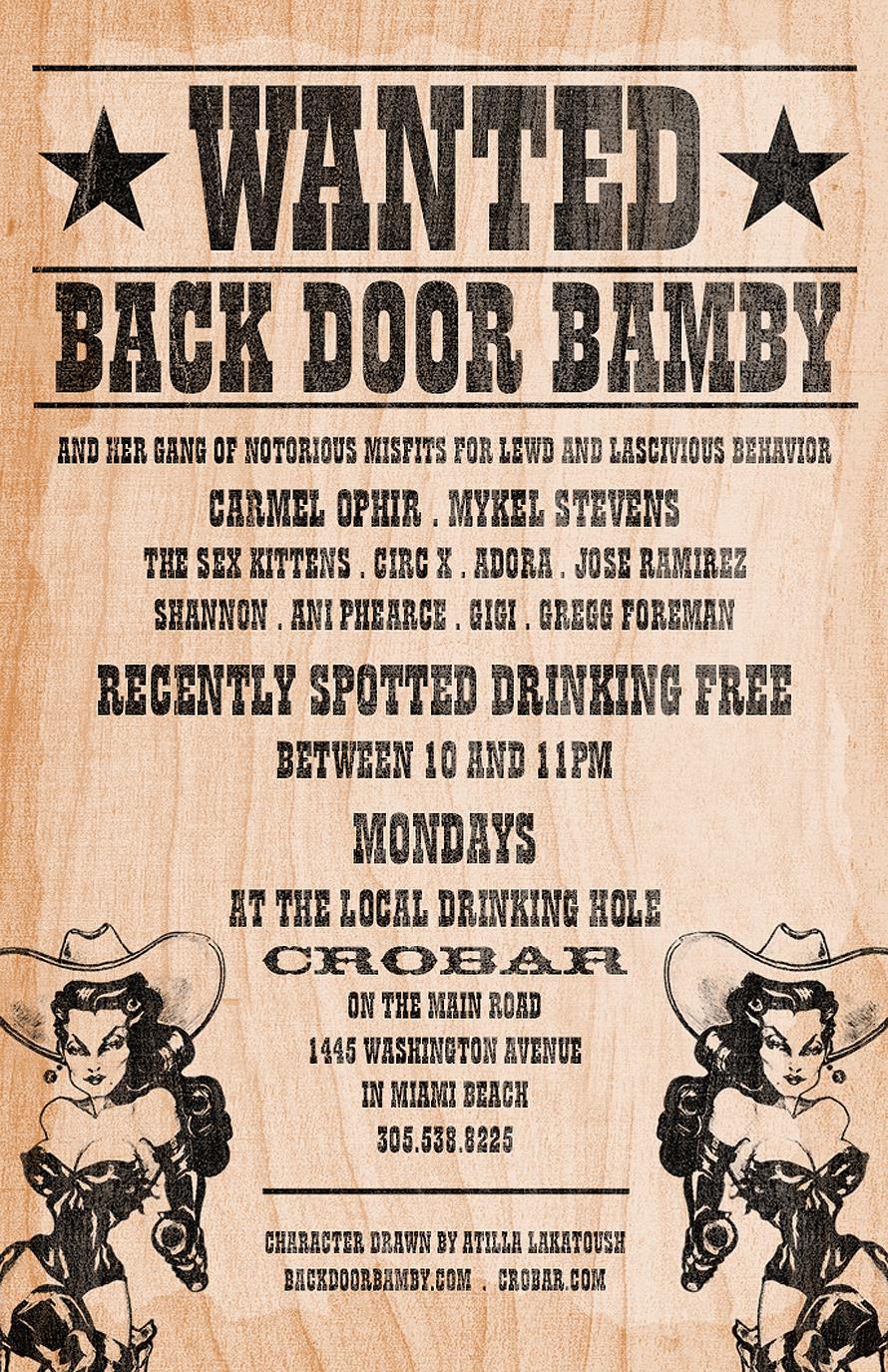 Backdoor Bamby at Crobar