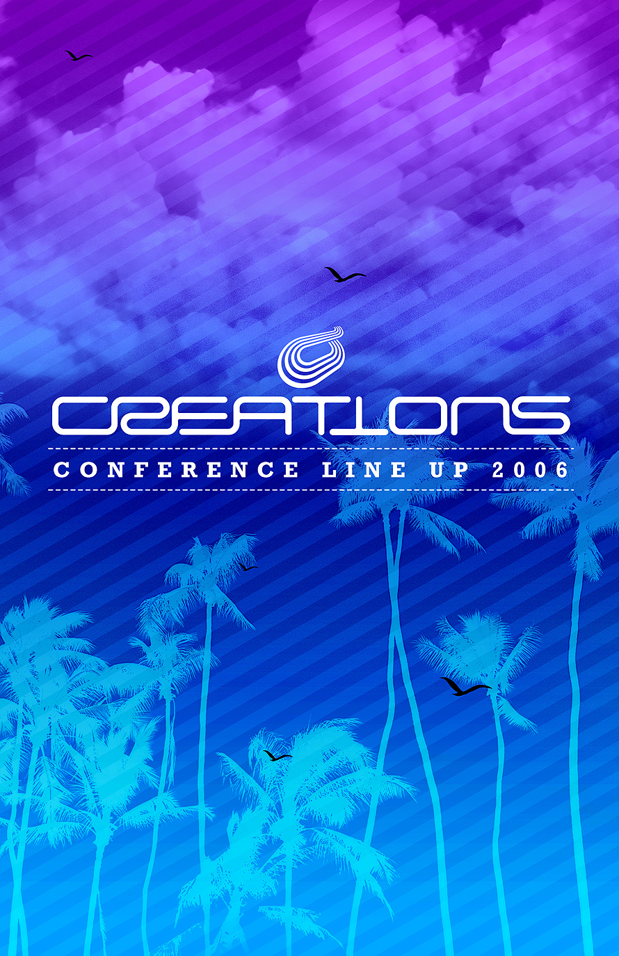 Creations Conference Line- Up