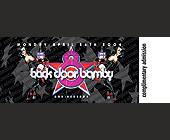 Back Door Bamby Eight Year Anniversary - Adult Entertainment Graphic Designs