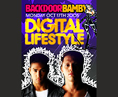 Backdoor Bamby Digital Lifestyle  - Nightclub Graphic Designs