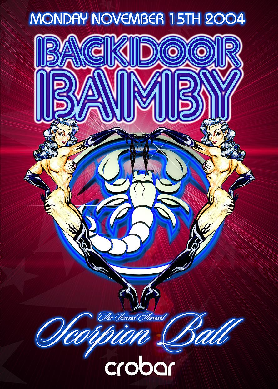 Back Door Bamby Scorpion Ball