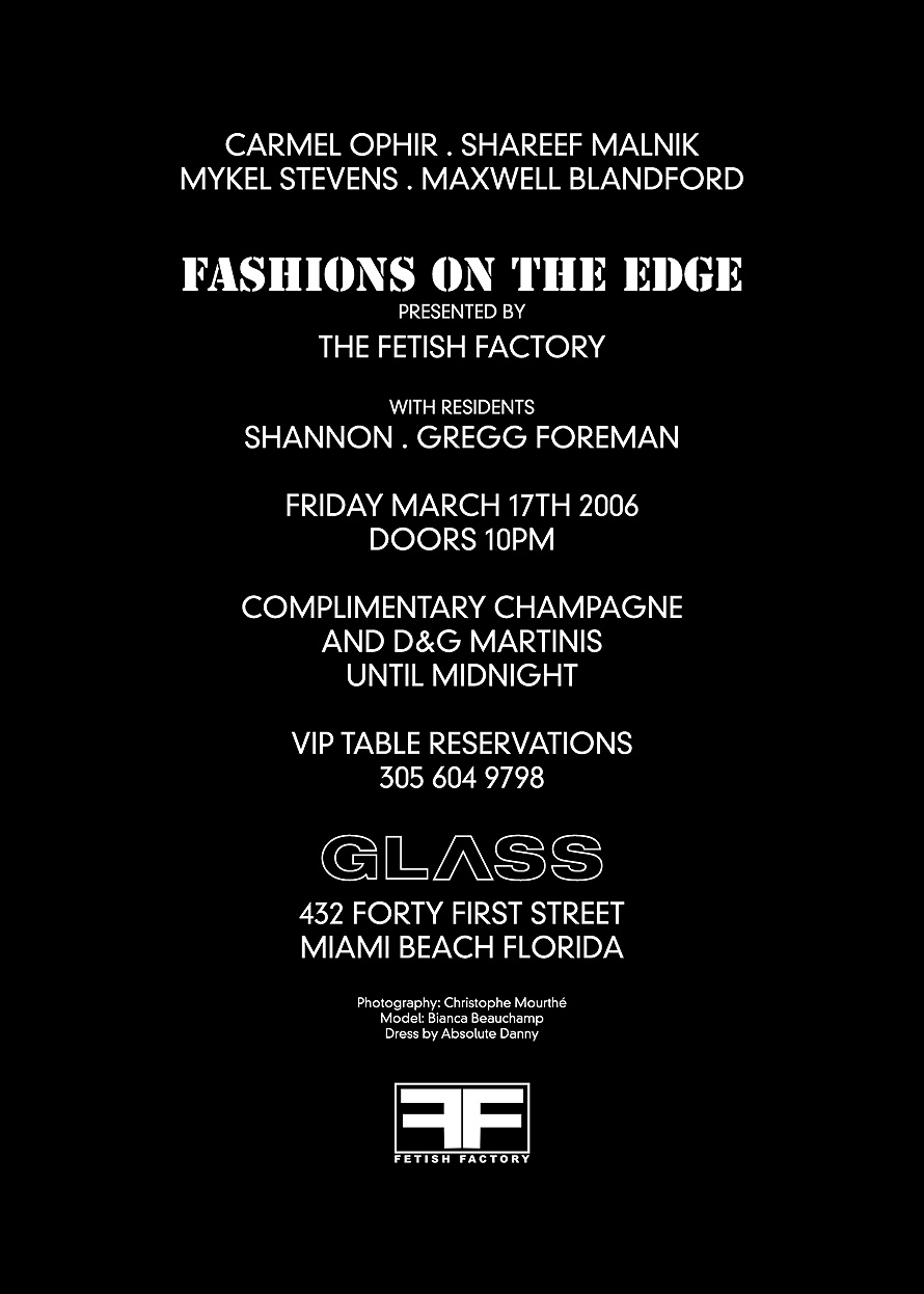 Fetish Factory at Glass Nightclub