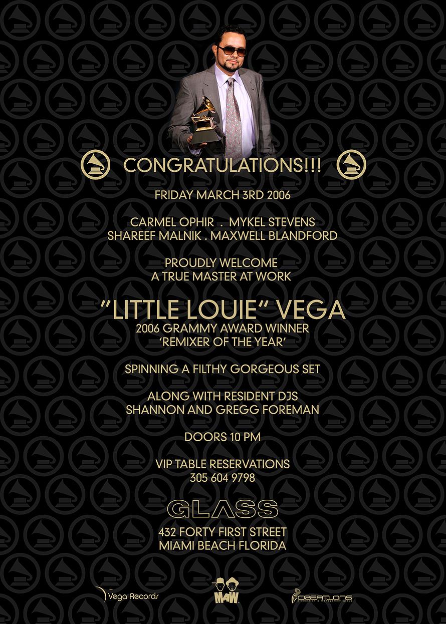 Little Louie Vega at Glass Nightclub
