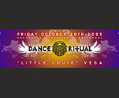 Little Louie Vega at Ritual Dance - tagged with mr
