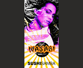Sushi Samba Wasabi Karaoke - tagged with woman