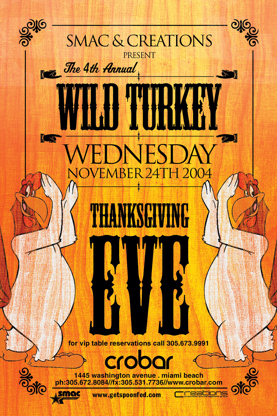 Thanksgiving Eve Wednesday at Crobar