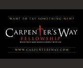 Carpenters Way Fellowship - 2.25x3.75 graphic design