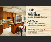Castle Cabinet Refinishers - 2.25x3.75 graphic design