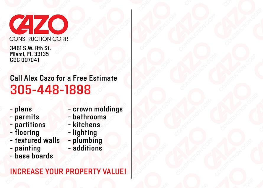 Cazo Construction Corp.