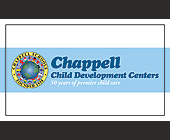 Chappell Child Development Centers - 2.25x3.75 graphic design