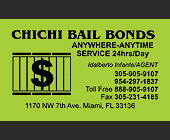 Chichi Bail Bonds  - 2250x1350 graphic design