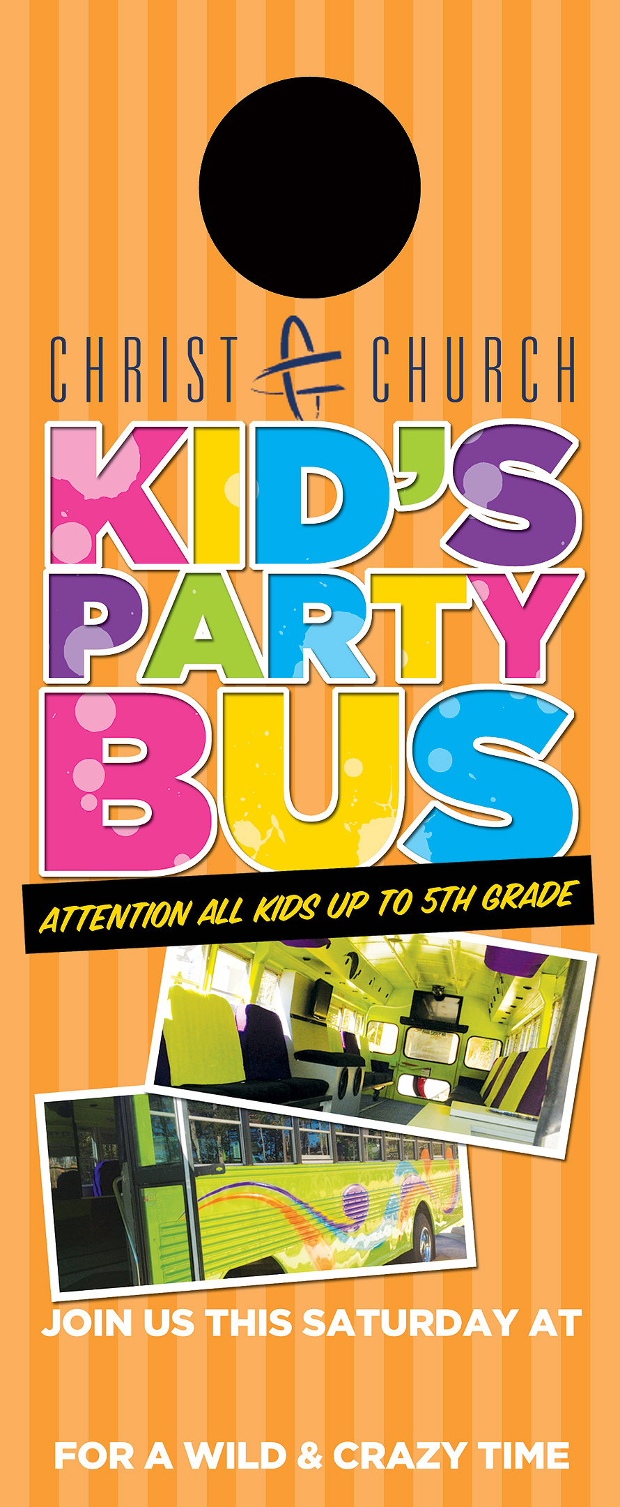 Christ Church Kid's Party Bus