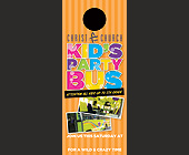 Christ Church Kid's Party Bus - 1050x2550 graphic design