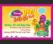 Barney Live - tagged with by