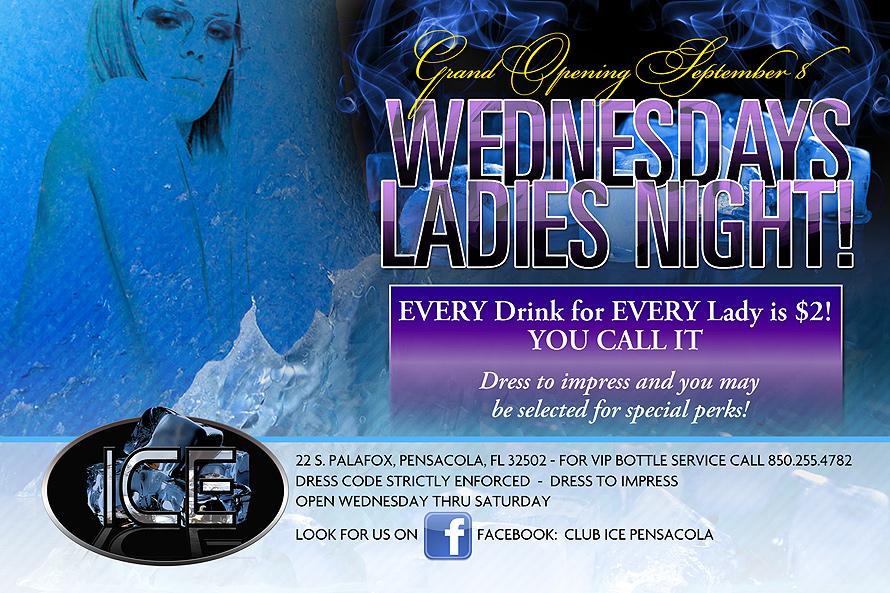 Wednesdays Ladies Night