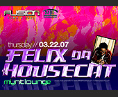 Felix Da House Cat - 1500x2100 graphic design