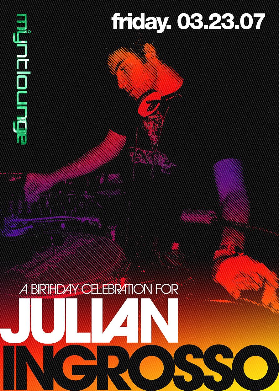 Julian Ingrosso at Mynt Lounge