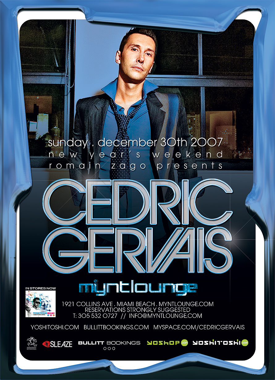 Cedric Gervais at Mynt Lounge
