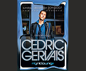 Cedric Gervais at Mynt Lounge - Bars Lounges