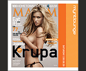 Krupa at Mynt Lounge - Fashion Graphic Designs