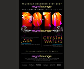 New Years Eve at Mynt Lounge - tagged with 10pm