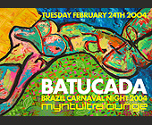 Batucada Brazil Carnaval Night 2004 - 1250x1750 graphic design