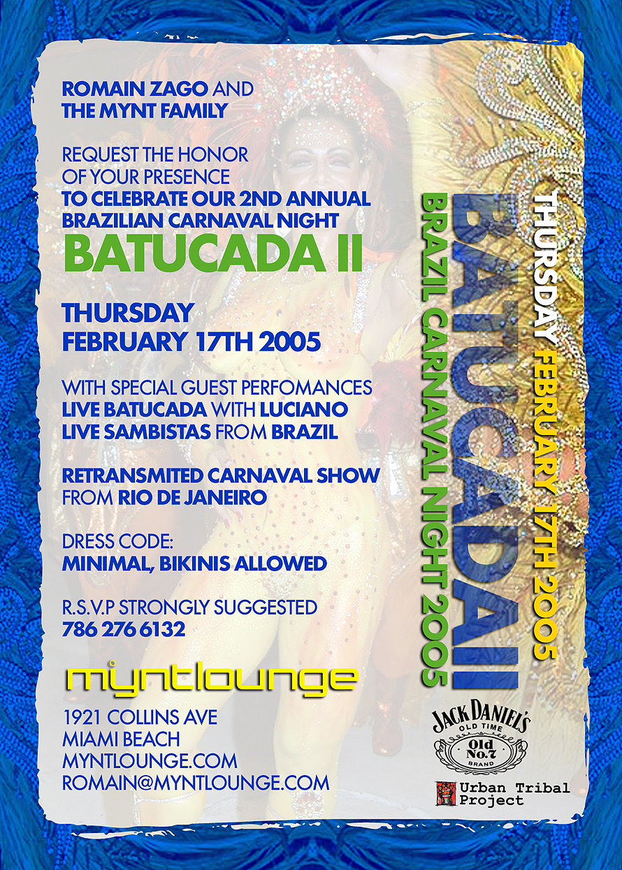 Batucada II at Mynt Lounge