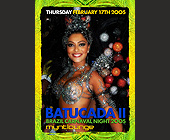 Batucada II at Mynt Lounge - 1250x1750 graphic design