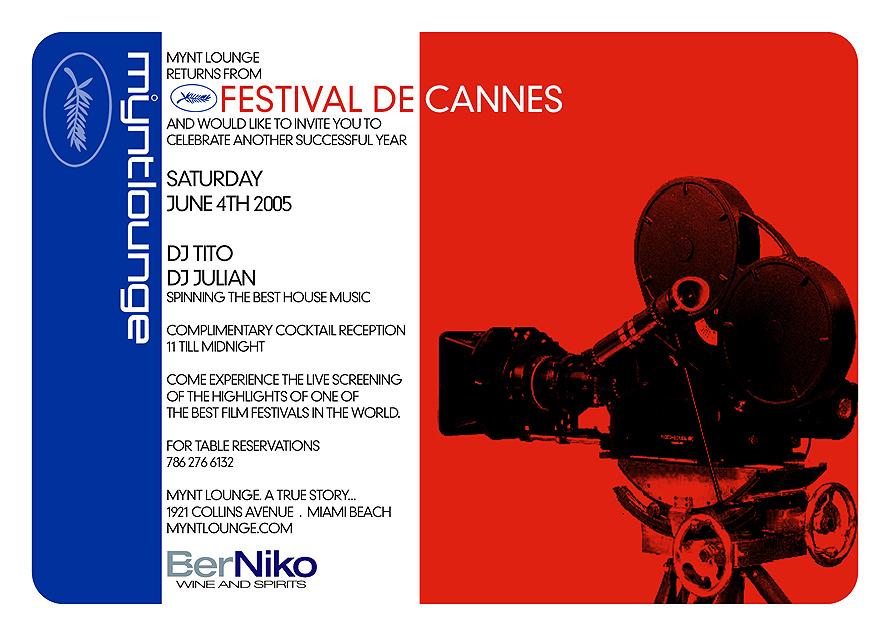 Mynt Lounge Returns from Festival de Cannes
