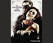 Mynt Lounge The Phantom of the Opera  - 1250x1750 graphic design