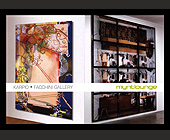 Karpio and Facchini Gallery at Mynt Lounge - tagged with miami beach