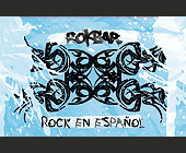 Rock En Espanol - 2.75x4.25 graphic design