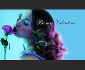 Be My Valentine - tagged with flower
