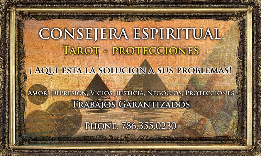 Consejera Espiritual Tarot