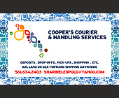 Cooper's Courier and Handling Services - 938x563 graphic design