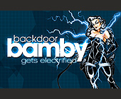 Backdoor Bamby - 2.75x4.25 graphic design
