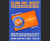 Dave and Busters Dolphin Mall Power Card - 4.25x5.5 graphic design
