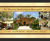 Pinecrest Mediterranean Masterpiece - 1500x2100 graphic design