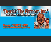 Derrick the Plumber - tagged with e