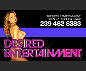 Desired Entertainment - tagged with female