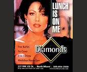 Diamonds Lunch is on Me - 1050x1275 graphic design