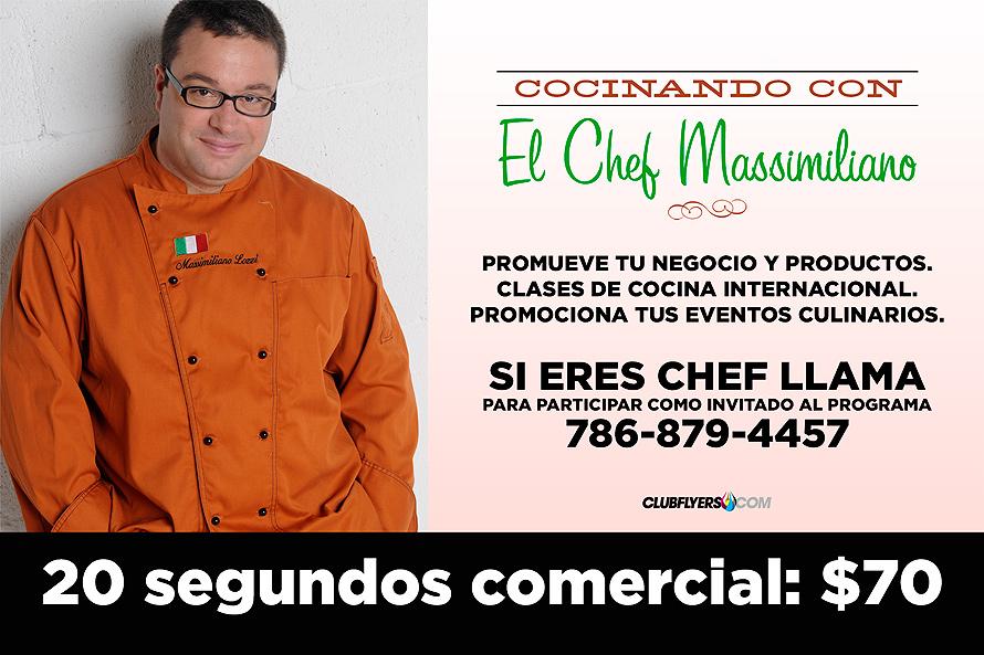 Chef Massimiliano America TeVo 41