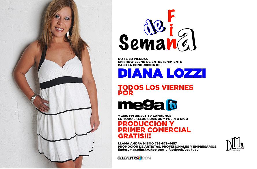 Mega TV Diana and Massimiliano Fin De Semana