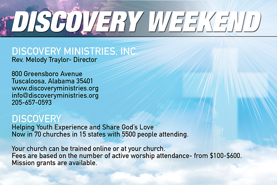 Discovery Weekend A Youth Weekend for Spiritual Formation