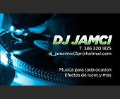 DJ Jamci - Hispanic Graphic Designs