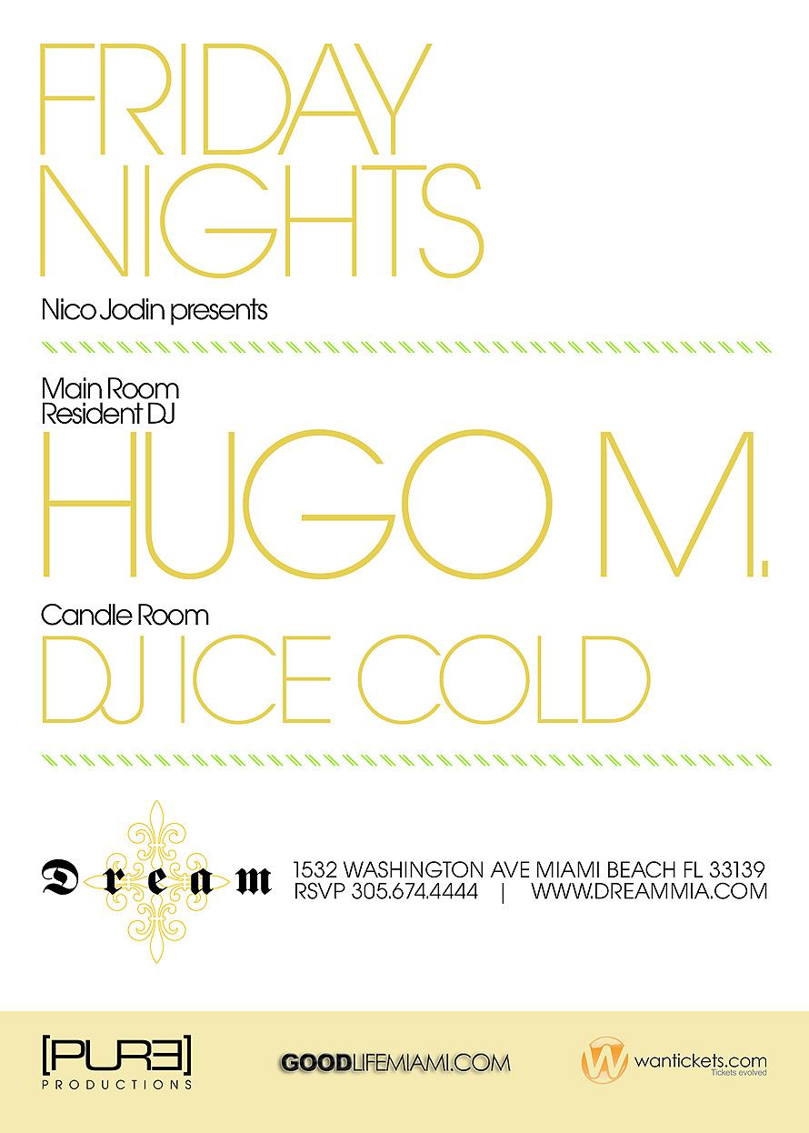 Pure Fridays at Dream Nightclub