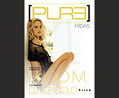 Pure Productions Dream Nightclub - 1330x1862 graphic design