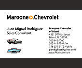 Maroone Chevrolet Sales Consulting - tagged with mobile